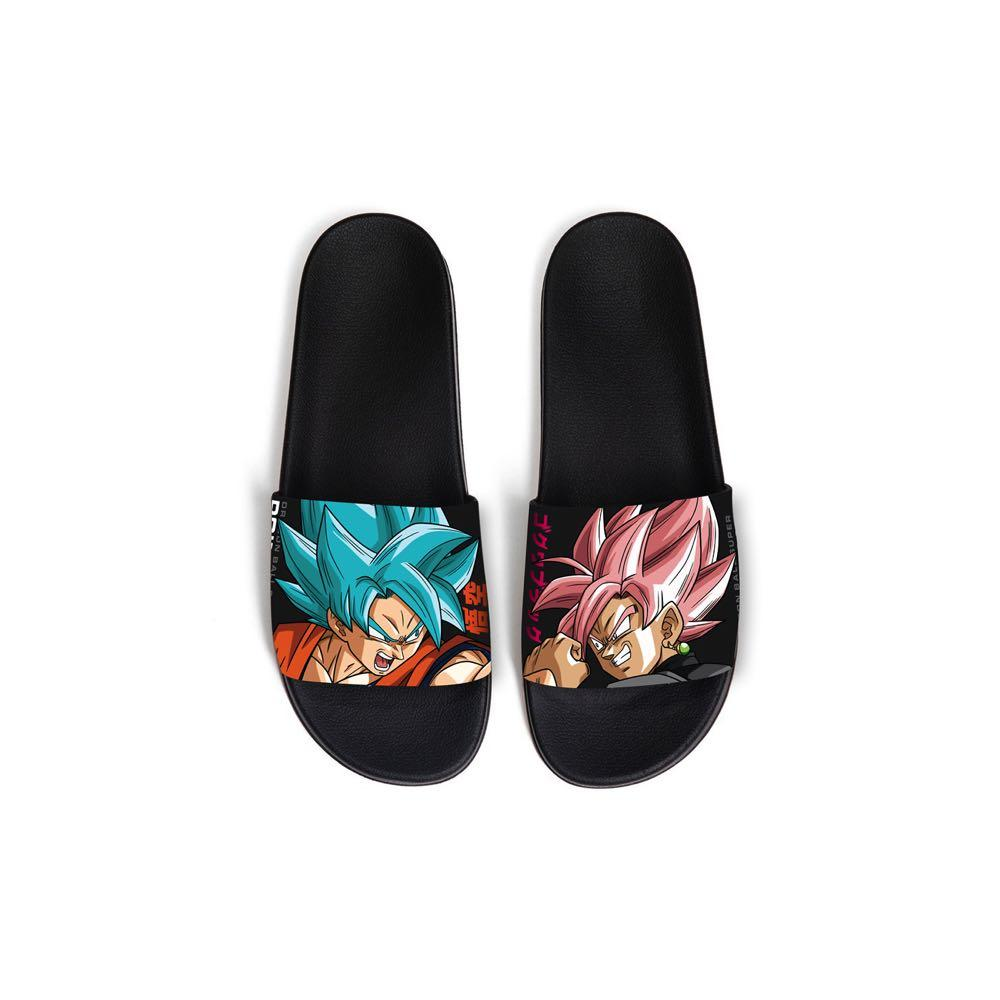 Primitive x Goku Black Rosé Capsule Collection Goku Versus Slides