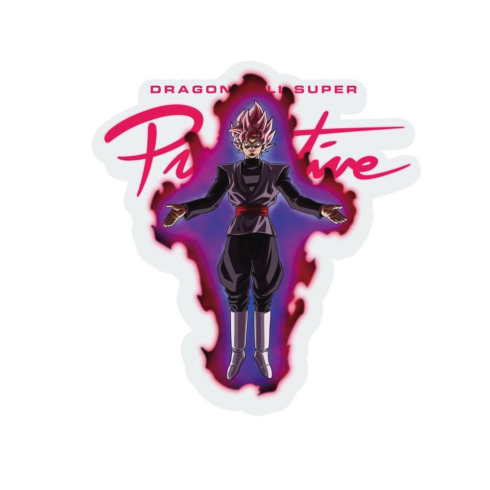 Primitive x Goku Black Rosé Capsule Collection Nuevo Sticker