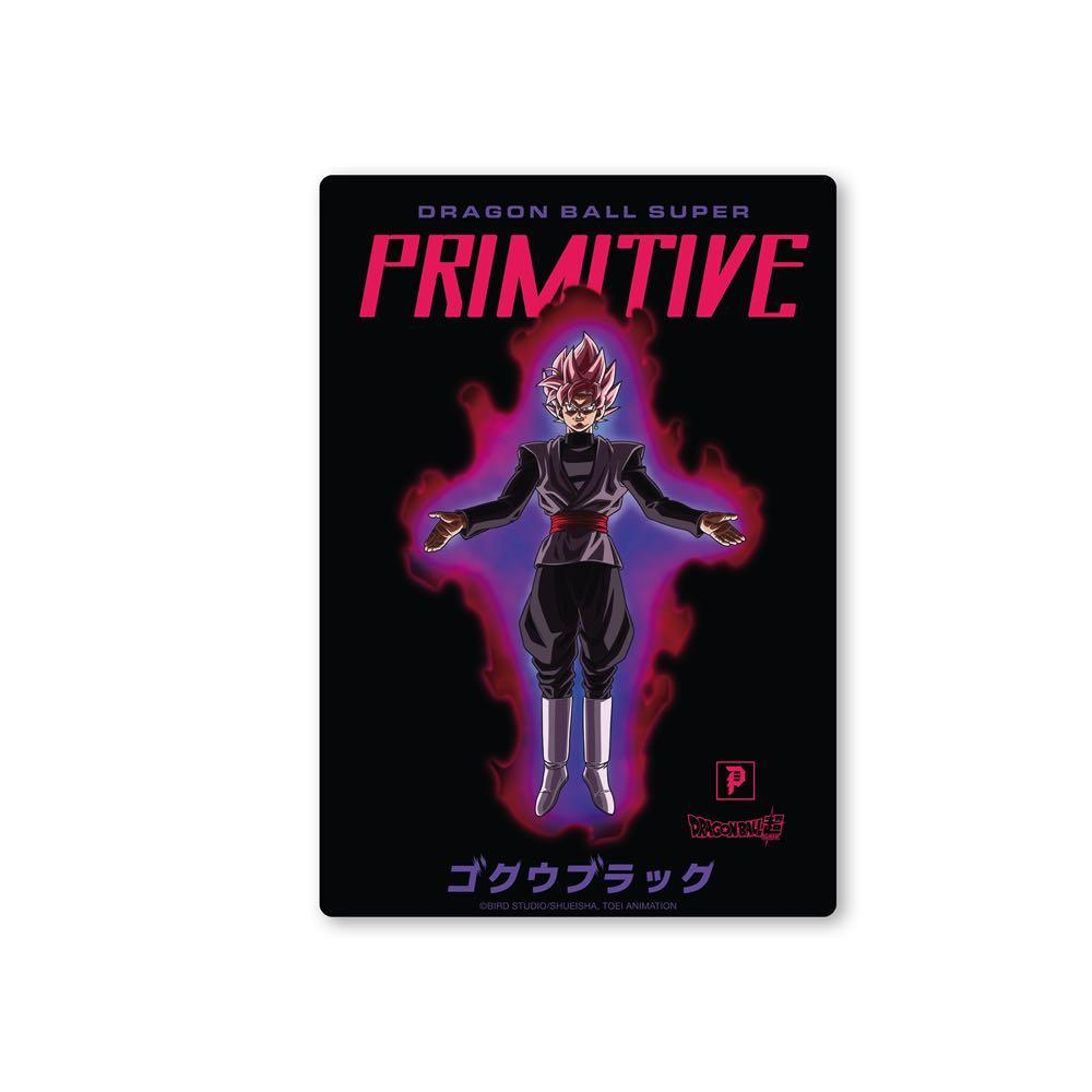 Primitive x Goku Black Rosé Capsule Collection Sticker