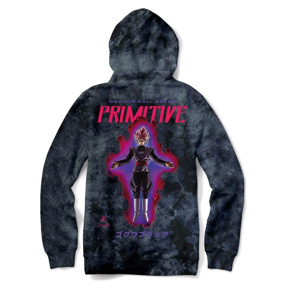 Primitive x Goku Black Rosé Capsule Collection Washed Hoodie