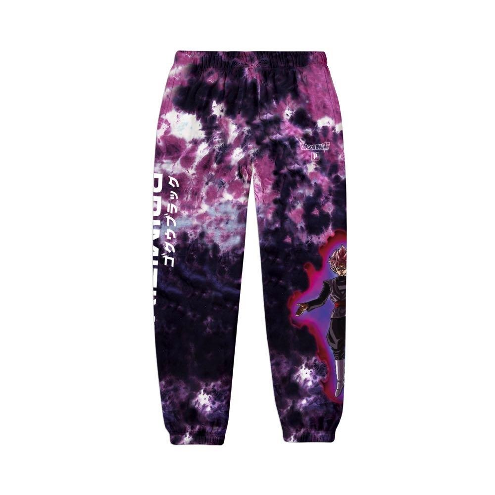 Primitive x Goku Black Rosé Capsule Collection Washed Sweatpants