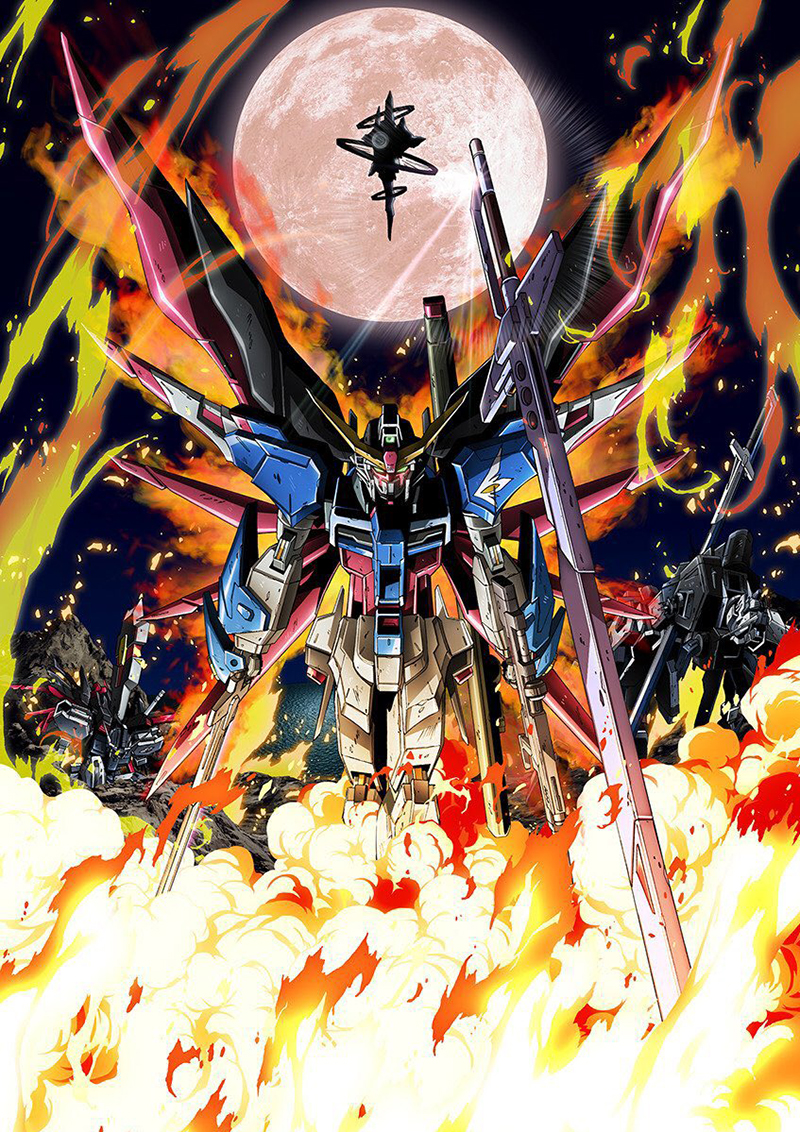 Mobile Suit Gundam SEED Destiny HD Remaster Coming to Funimation