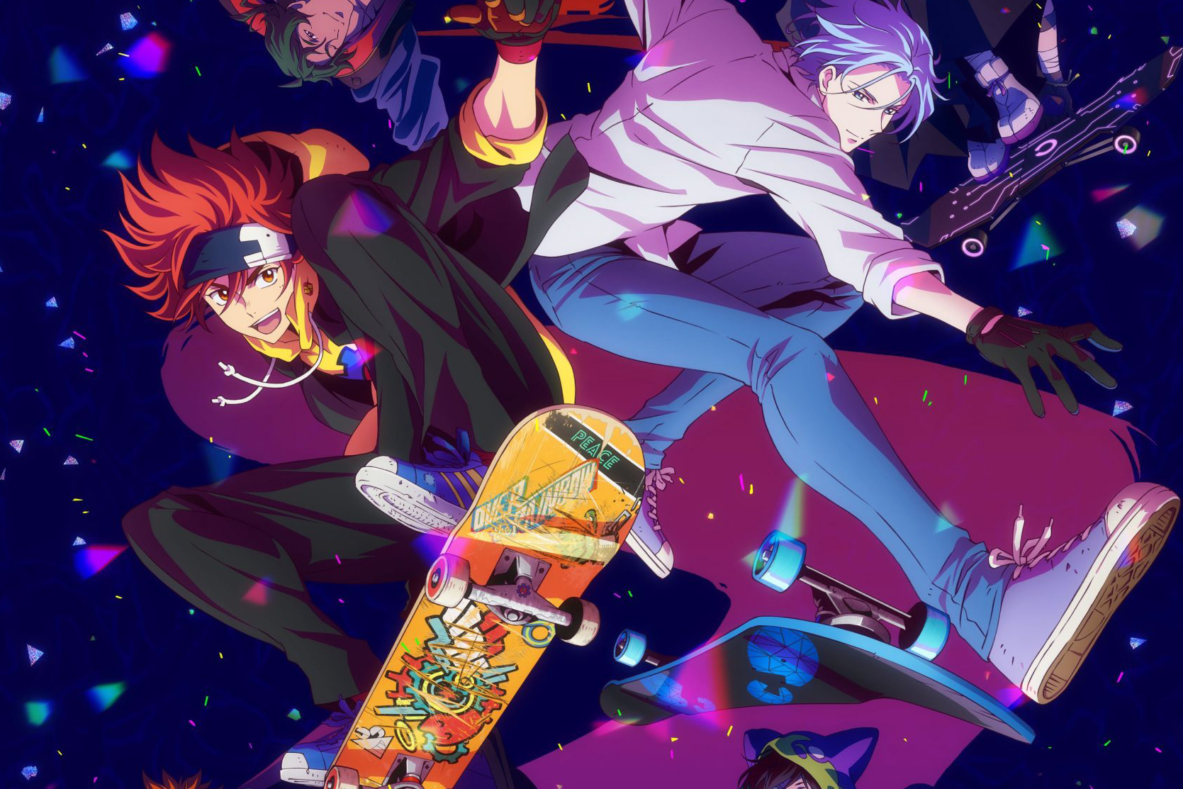 Most Anticipated Anime Coming Out in January 2021 - SK8 the Infinity