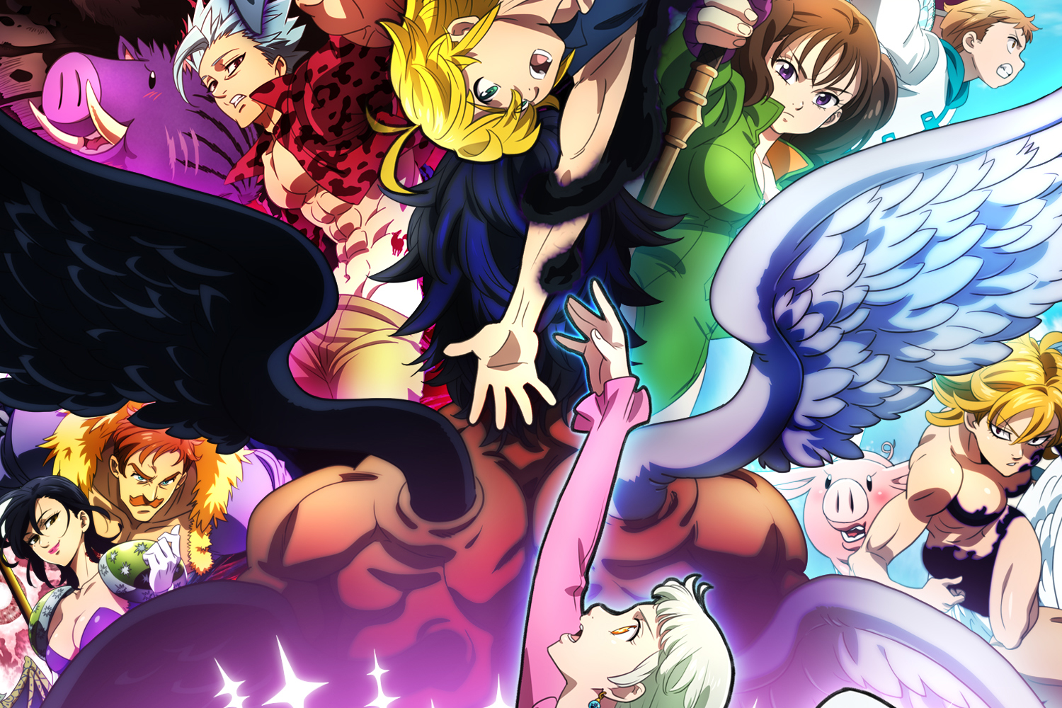 Most Anticipated Anime Coming Out in January 2021 - The Seven Deadly Sins: Dragon's Judgement