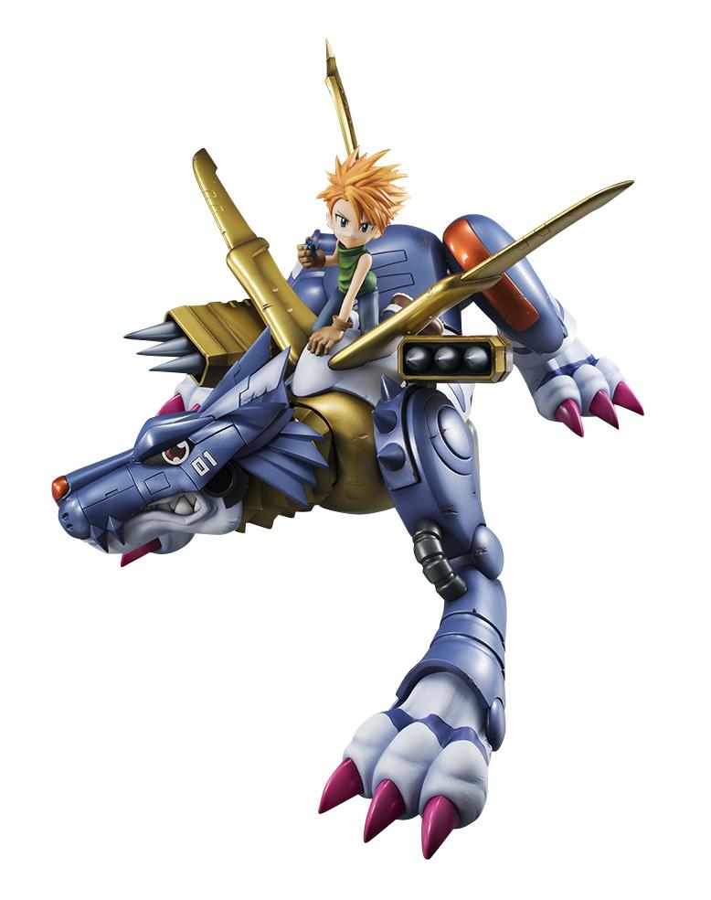 Precious G.E.M. Series: Digimon Adventure MetalGarurumon and Yamato Ishida (Reissue)