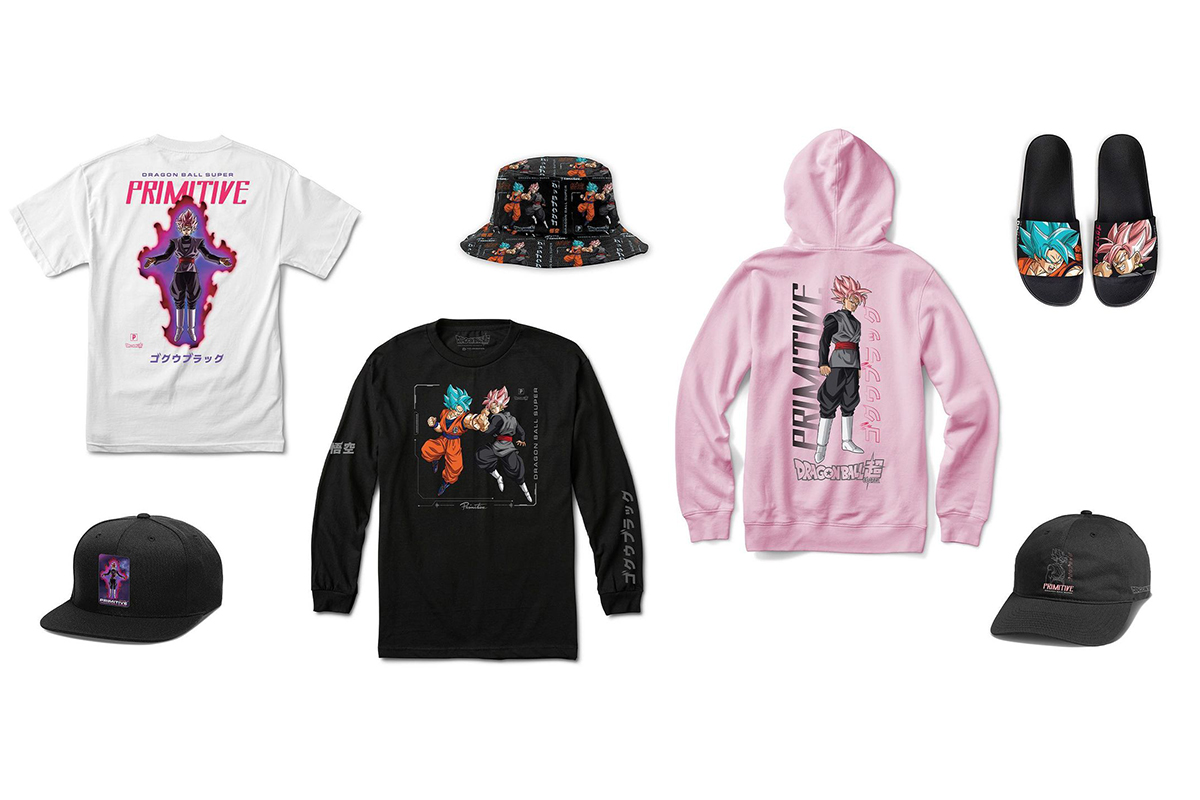 New Primitive Goku Black Rosé Collection Dropping Tonight