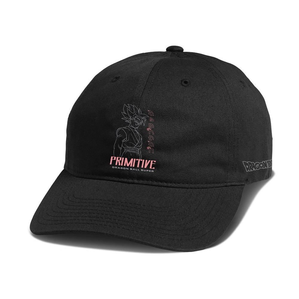 Primitive x Goku Black Rosé Capsule Collection Goku SSR Goku Black Strapback Hat