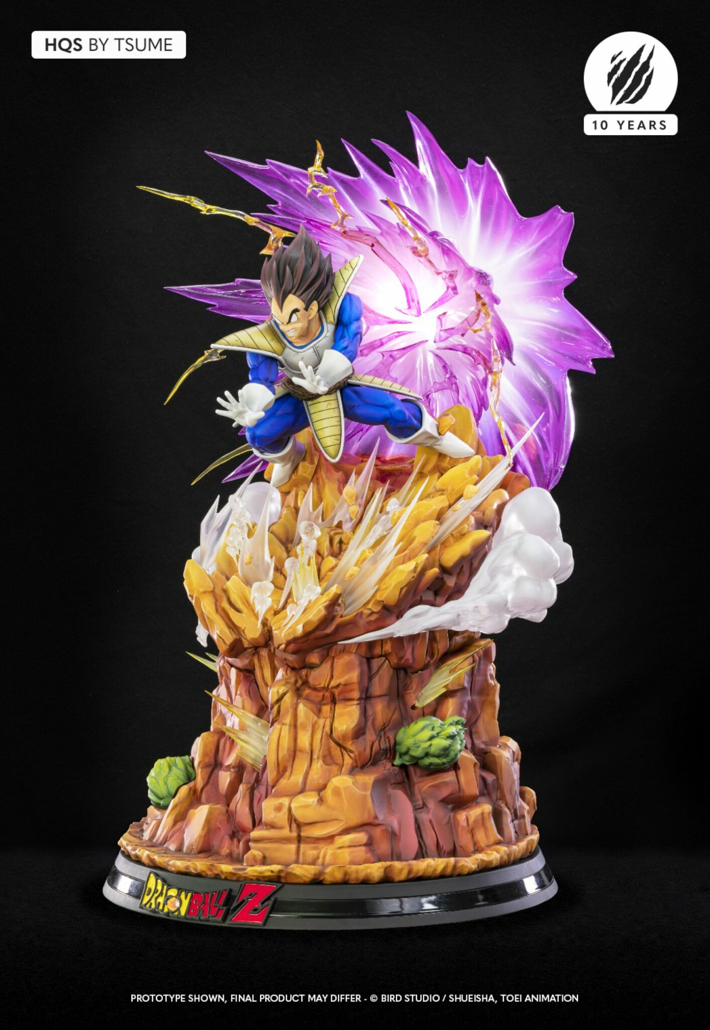 Tsume Vegeta Galick Gun Dragon Ball Z Statue 3