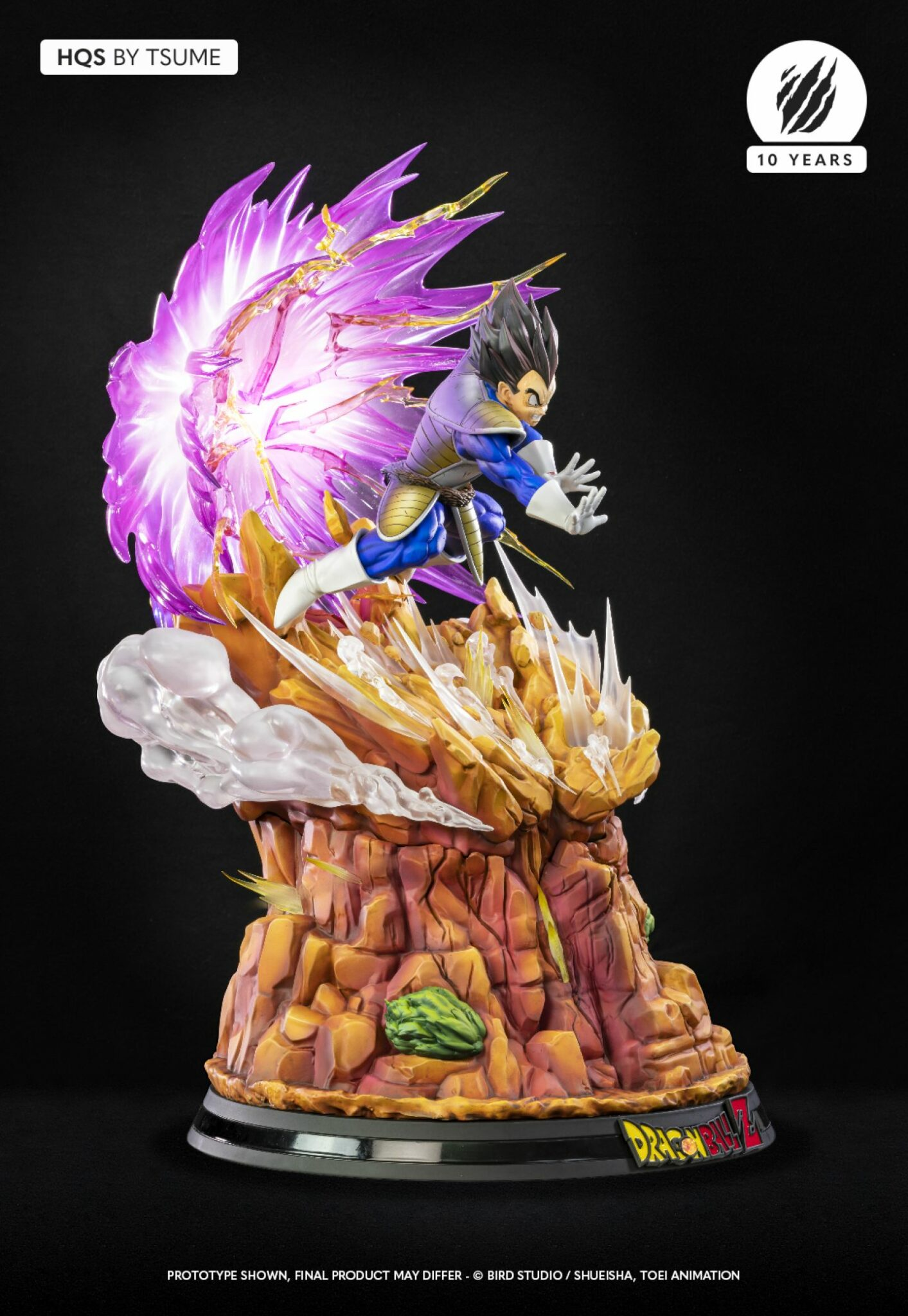 Tsume Vegeta Galick Gun Dragon Ball Z Statue 4