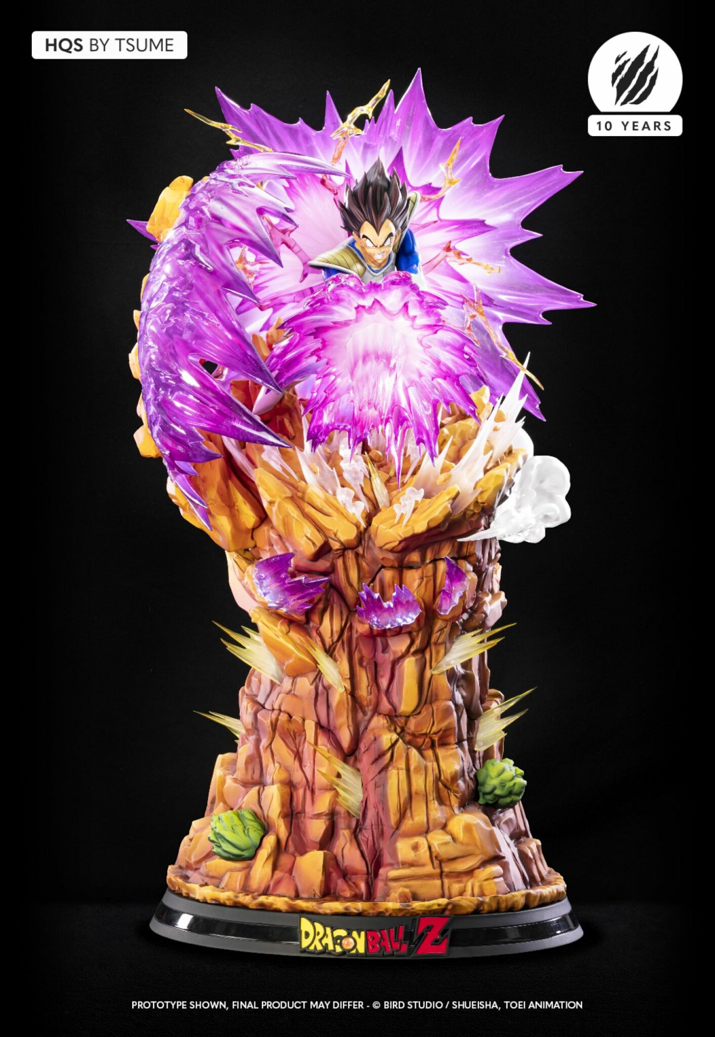Tsume Vegeta Galick Gun Dragon Ball Z Statue 2