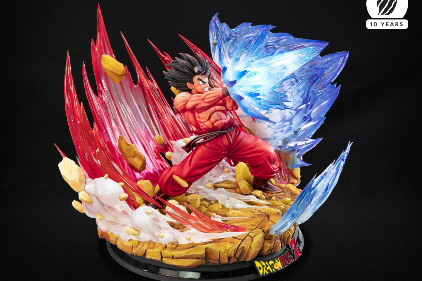 Tsume Unveil New Dragon Ball Z Goku Kaio-ken and Vegeta Galick Gun Statues