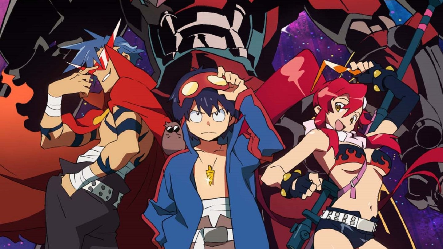Best Mecha Anime Streaming on Netflix Now - Gurren Lagann