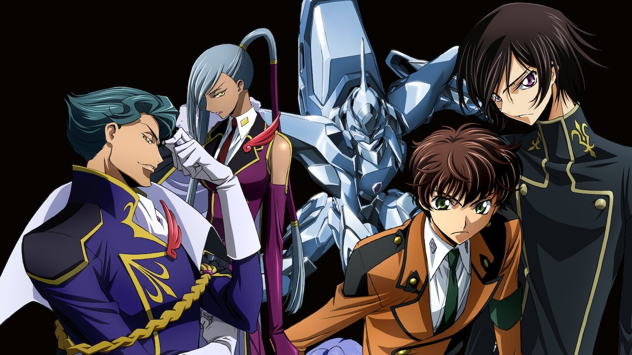Best Mecha Anime Streaming on Netflix Now -  Code Geass: Lelouch of the Rebellion