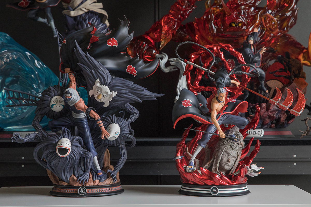 Clouds Studio Hidan Statue Hidan and Kakuzu