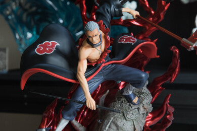 Clouds Studio Hidan Statue Close-up