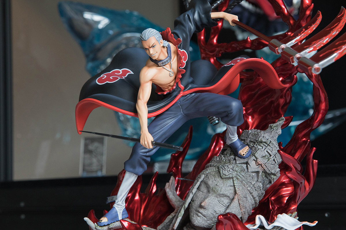 Clouds Studio Hidan Statue Close-up 3