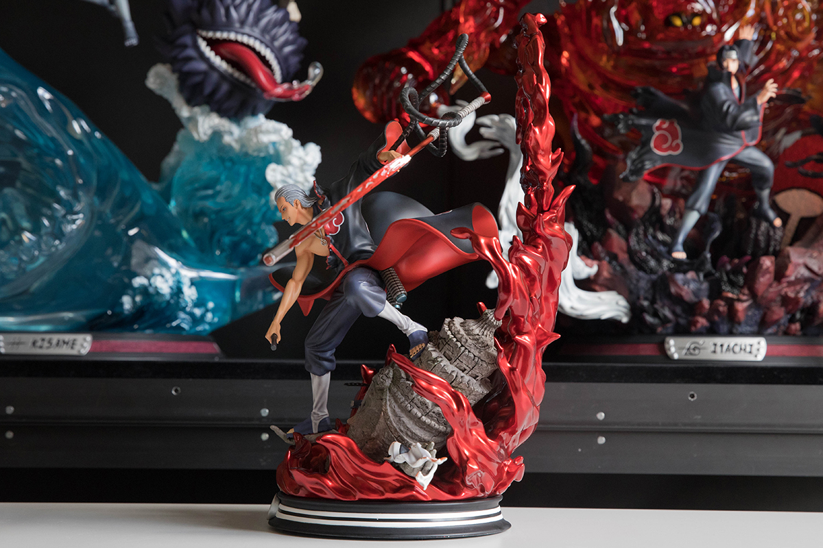 Clouds Studio Hidan Statue Side 1