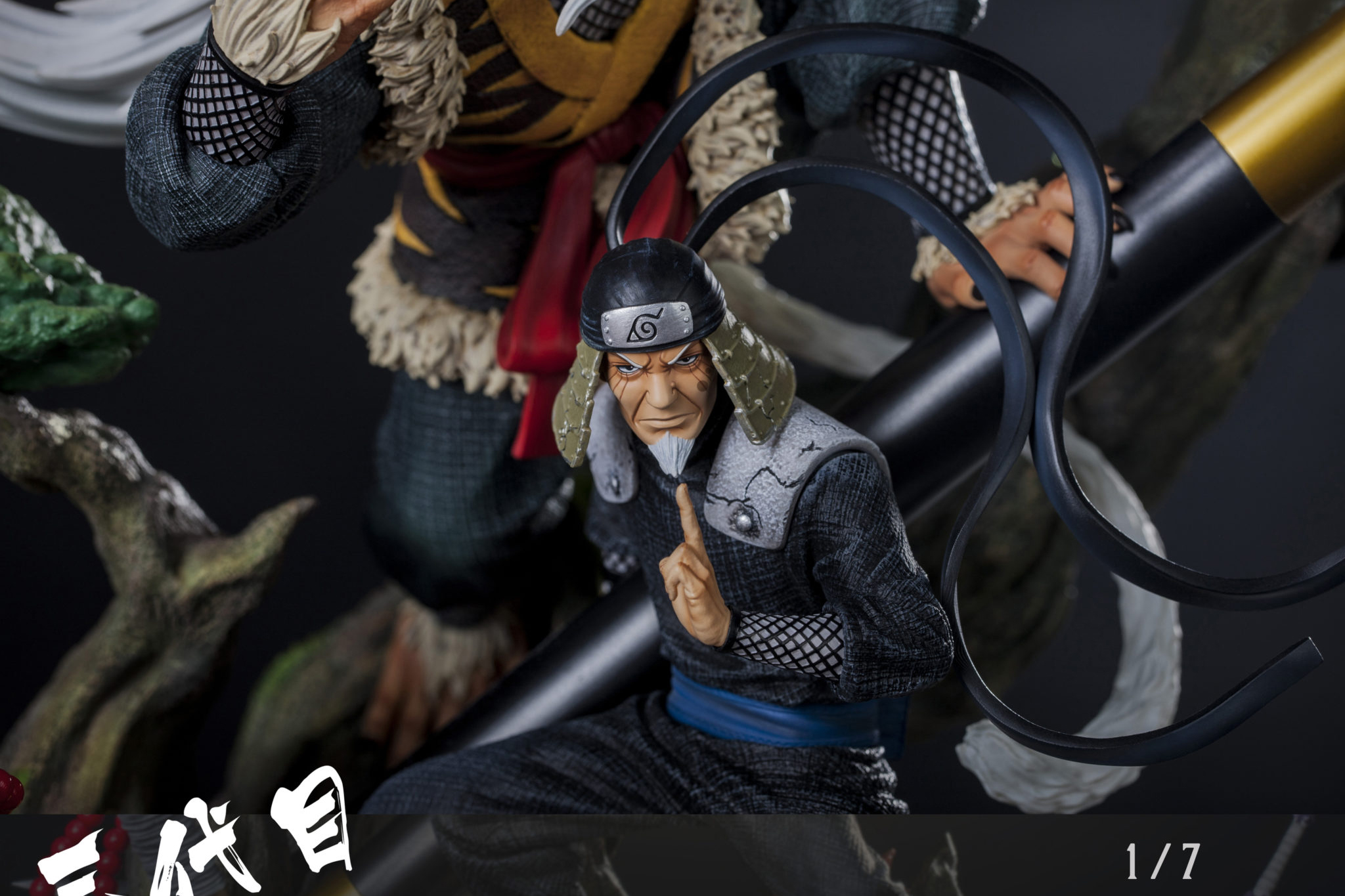 Clouds Studio Hiruzen Sarutobi 1/7 Scale Statue Main