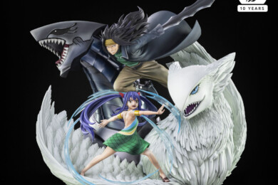 Tsume Unveil New Fairy Tail Statue of Gajeel & Wendy