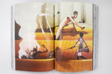 Attack on Titan Colossal Editions Review Color Pages