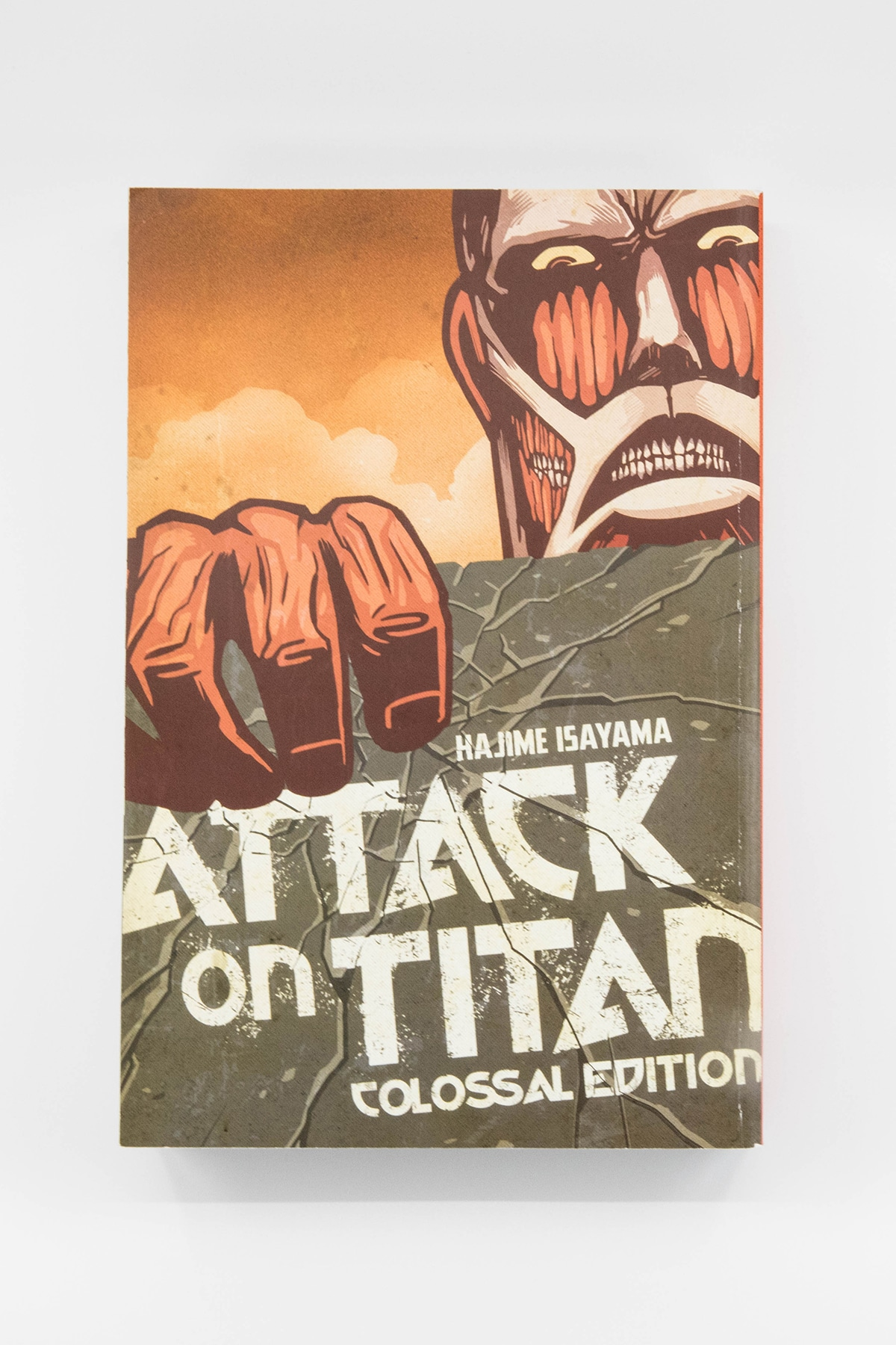 Attack on Titan Colossal Editions Review Front Cover