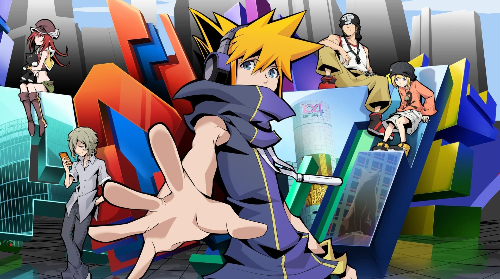 Most Anticipated Spring 2021 Anime - The World Ends with You Anime