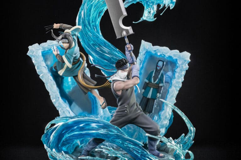 Tsume's Zabuza and Haku HQS Statue Is Available for Pre-order Now