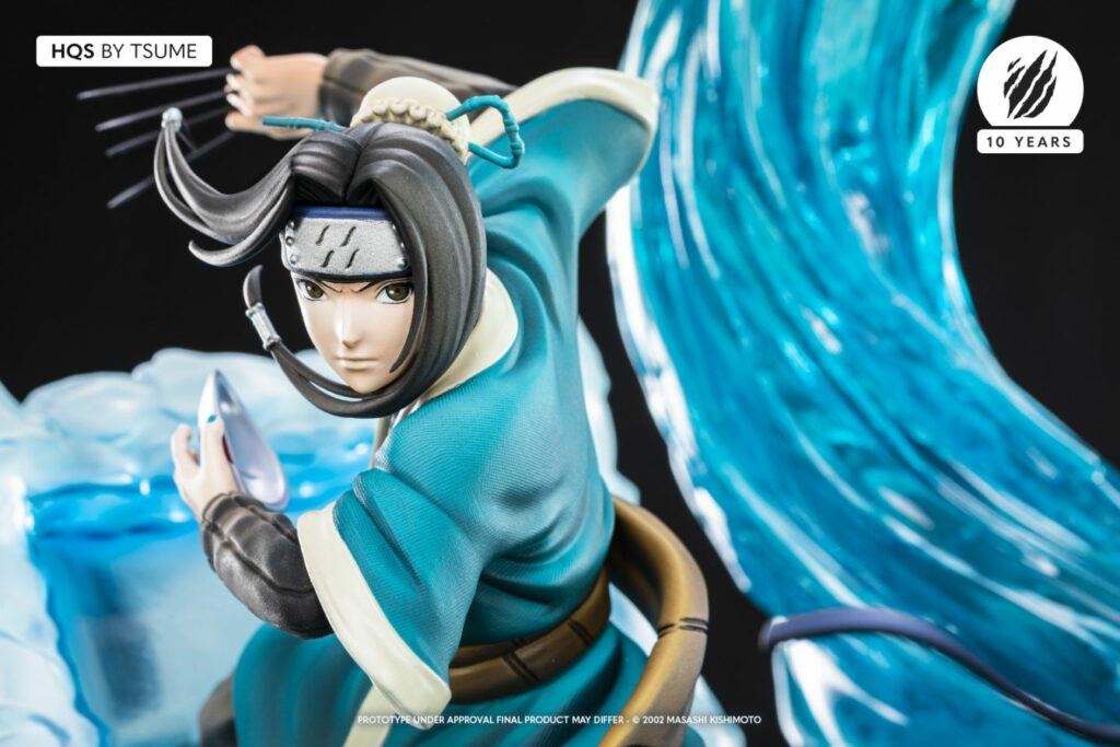 Tsume Zabuza & Haku HQS Statue Haku Close-up