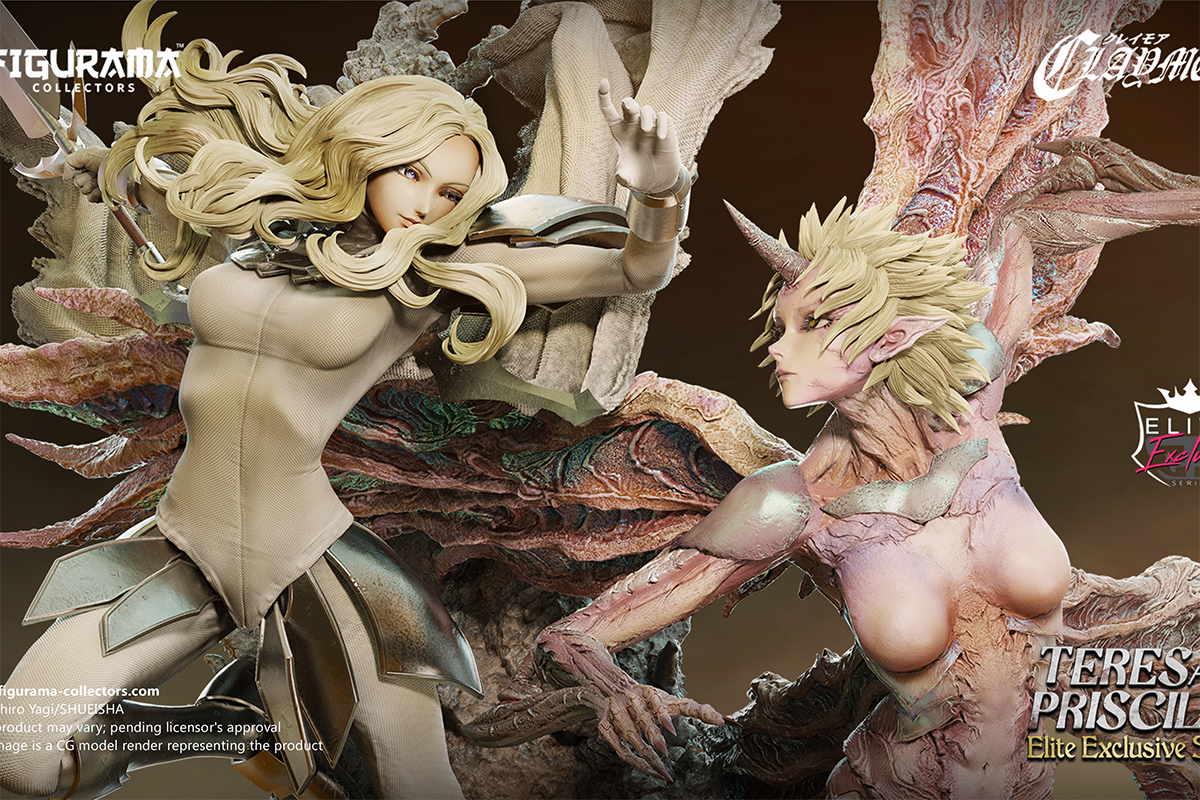 Figurama Teresa vs. Priscilla Elite Exclusive Claymore Statue