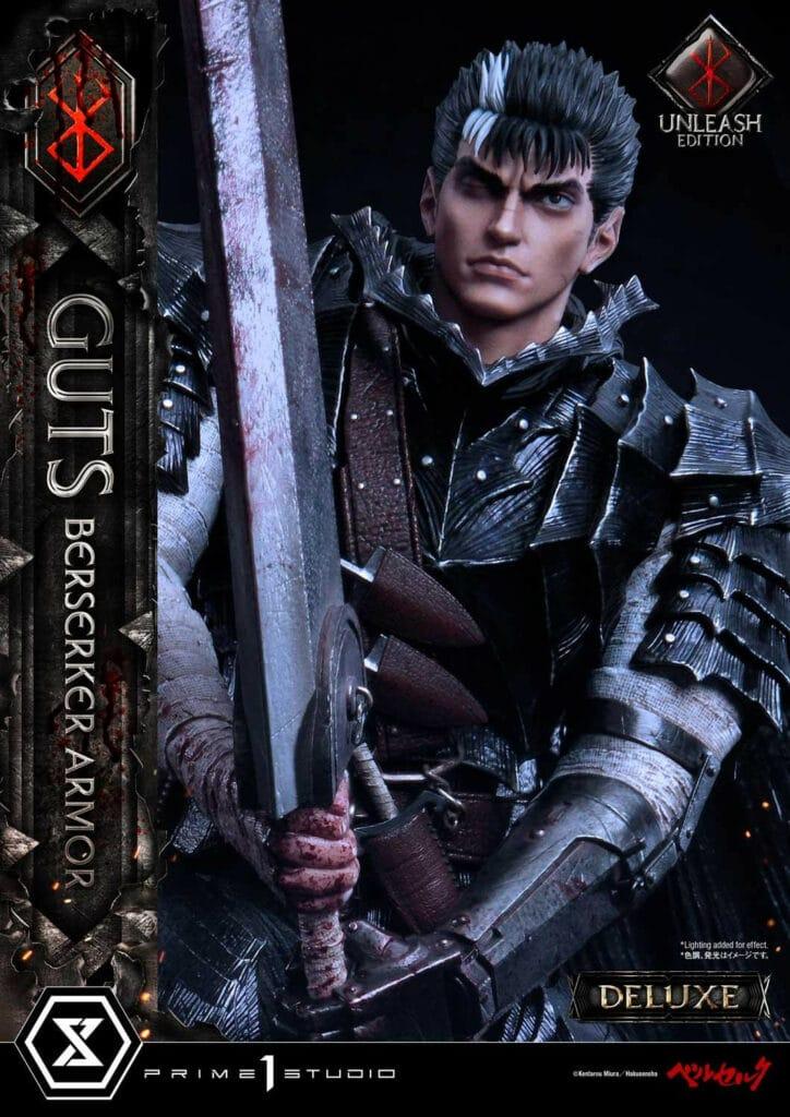 Prime 1 Studio Guts Berserker Armor Unleash Edition Deluxe Version