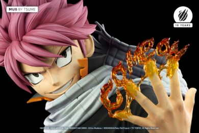 Tsume Reveal Life-Size Bust of Natsu