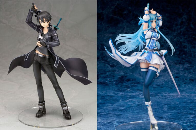 New ALTER Figures of Kirito and Asuna's Undine Avatar From SAO Surface