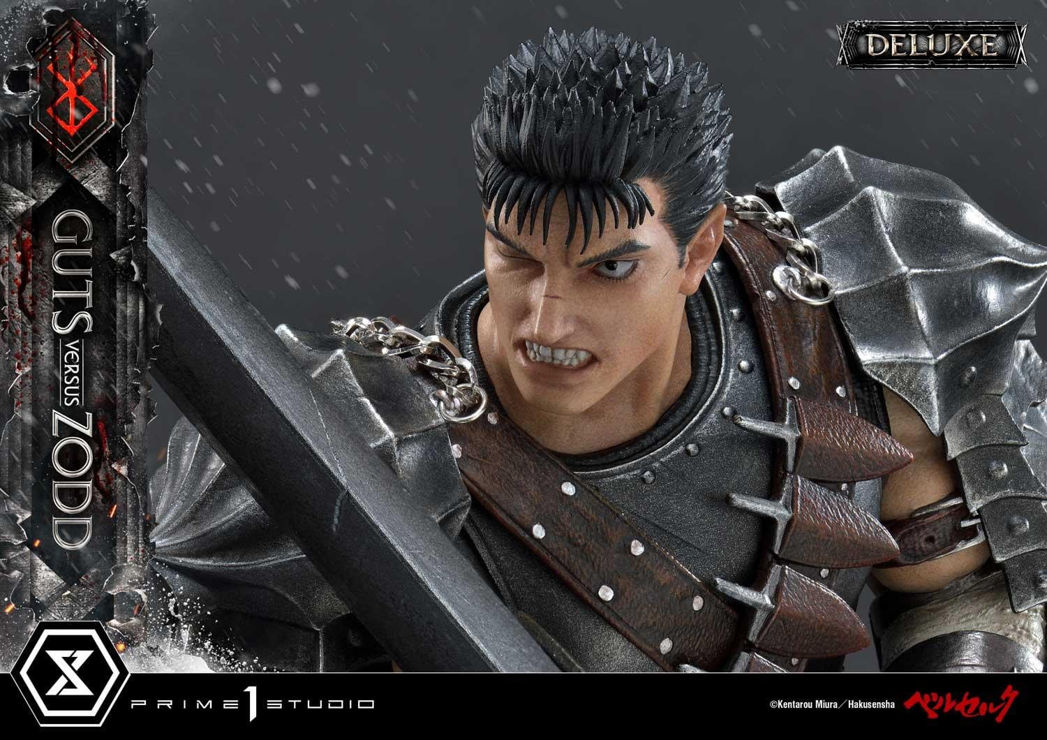 Prime 1 Studio Guts vs Zodd Deluxe Version Statue