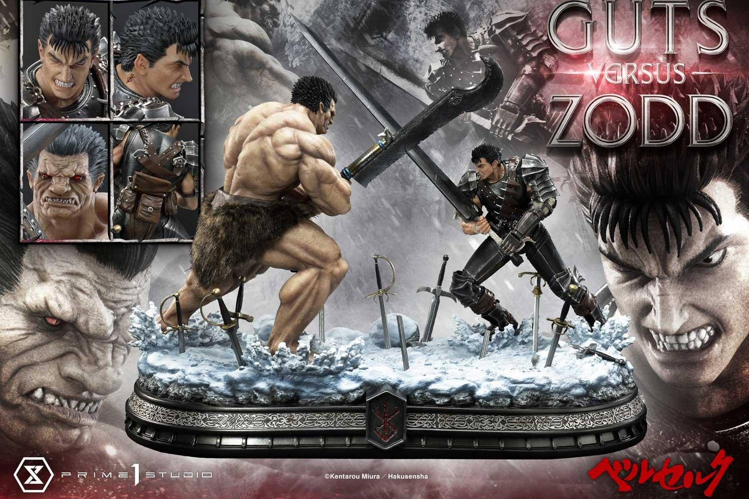 Prime 1 Studio's New Statue Shows Guts Clashing with Zodd