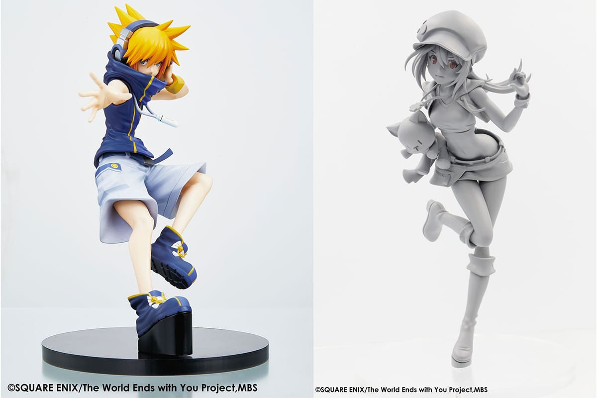 The World Ends with You Figures of Shiki and Neku Coming From Square Enix