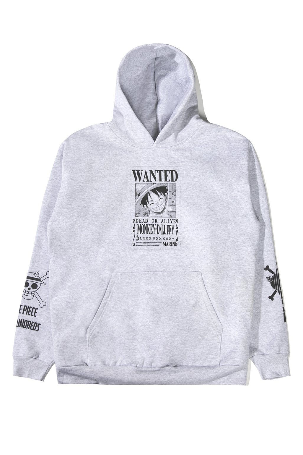 The Hundreds One Piece Luffy Wanted Poster Pullover