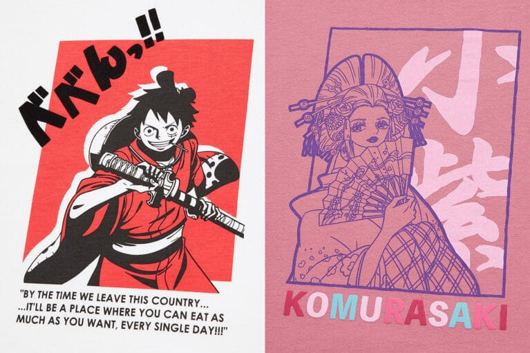 Uniqlo One Piece Wano Country Arc Collection Announced